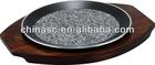 Natural Granite Round pizza pan fish grill basket