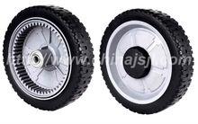 lawnmower wheel with gear