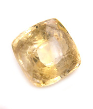 Certified 5.64 Ct Natural Pukhraj Yellow Sapphire Gemstone in Canada