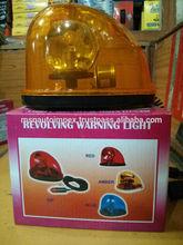 12V Halogen Warning light with magnetic base, Car Flashing Strobe light