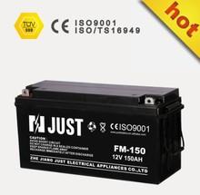 12v 150a solar battery 12v150ah vrla battery