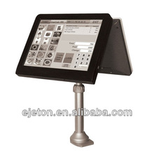 """15"""" dual extra thin touch screen pos machine ."""