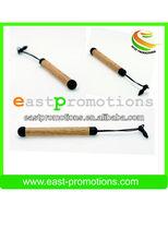 lightweight eco-friendly mini wooden touch pen