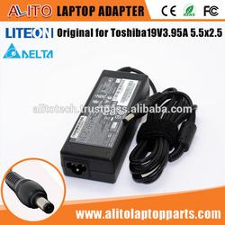 Original Genuine For Toshiba ADP-75SB AB AC/DC Laptop Power Adapter 19V 3.95A