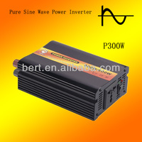 Hot sell 300watt DC TO AC pure sine wave car power inverter,CE & ROHS Approved(DC12V or DC24V batttery input)