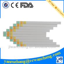 3 element urine reagent strip, URS-3 dirui test strip(A)