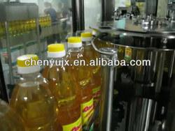 4000Bottles/hr sunflower oil packing machine
