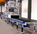 équipement de traitement de surface de la plaque en acier/qingdao grenaillage machine de nettoyage