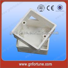 For Bangladesh Market Popular White 1 Gang PVC Box