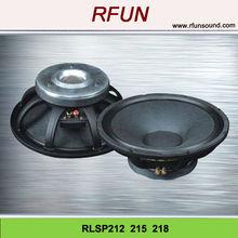12 -18 inch black widow PV 4inch VC Subwoofer speaker