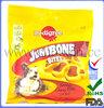 Free design custom packaging bags factory for pet food