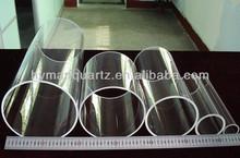 Good electrical insulation transparent quartz pipes,High precision clear quartz glass tubes with