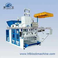 1 QTM10-15 hydraulic mobile block make machine