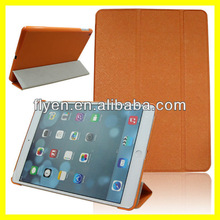 Slim Smart Magnetic Awake/Sleep Folding Leather Stand Case Cover for iPad Air 5 Color yellow