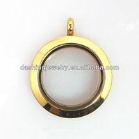 glass floating memory locket