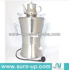 High quality electric russian samovar stainless steel samovar tea electric samovar