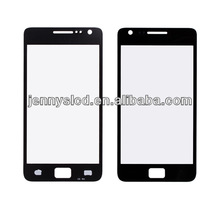 Original lcd cell phone front glass for samsung S2 i9100 black