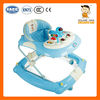 kid plastic toy car 819B simple horse rockig baby walker with brakes and small silicon wheels EN71&CCC