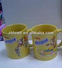 Nesquik mug, porlelain mug,rabbit mug