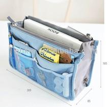 cosmetic makeup bag women's organizer bag handbag travel bag insert with pockets storage bags