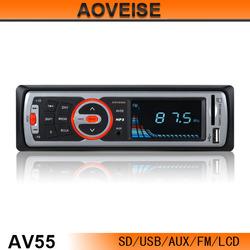 Hot!! 2014 new model car mp3 audio system AV55C[AOVEISE]