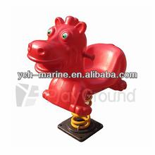 Spring Rocking Toy:Plastic Spring Rider - Unicorn