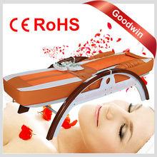Ceragem Price Automatic Thermal Folding Infrared Electric Adjustable Warm Jade Stone Vibration Ceragem Jade Massage Bed GW-JT07