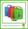 wholesales customized logo printed waterproof foldable shopping bag