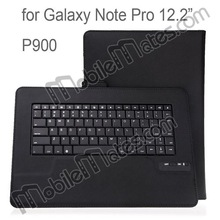 For Samsung Galaxy Pro 12.2 P900 P905 Keyboard Leather Case Detachable Bluetooth Keyboard for Galaxy Pro 12.2 P900 Leather Case