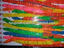 missile rocket shape balloons