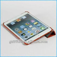 crimson 4 folding leather case for mini tablet pc