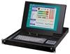 15 LCD Monitor/ Keyboard/ Mouse/Speak/ KVMA switch 5-in-1 1U Height Drawer