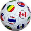 Machine stitched ball/Cheap leather football/Football