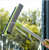Spot window squeegee brush Glass brush handle extension removable double-sided glass cleaner