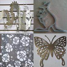 Custom aluminium metal wall art