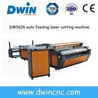 DW1626/DW1640 jinan factory big size auto feed laser cutting machine