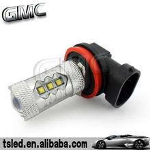 led cree car bulbs lighting auto lamp 80w fog light H8 cree fog light