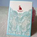 Livre impressão do cartão de casamento/ideal produtos de cartões de casamento/amostra grátis cartão de casamento