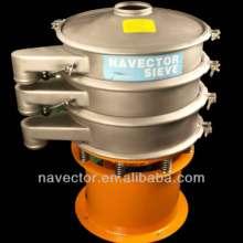 Bio fuels/pellets Liquids Vibrating Screening Machine High-energy NVS-1000 0.7kw 304 CE Certification