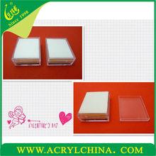 Acrylic jewelry box acrylic case for jewelry acrylic gift box