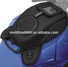 Black Nylon 100% Waterproof/wind magnetic Motorcycle Tank Bag