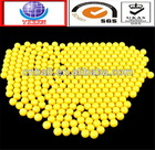 High quality best sell 3/4 plastic pom solid ball