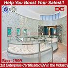 Retail fashion interior jewelry/ jewellery shop decoration