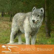 Animal Safari Park Lifelike Life Size Wolf Model
