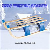 Foldable Wooden Grass Sled Equipment