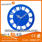 New design Aluminium Art Clock