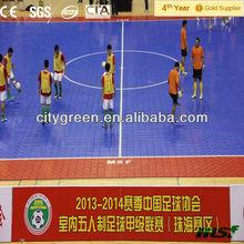 Portable futsal Interlocking Floor Tiles, Indoor Fitness / Gym Sports Flooring