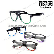 RB model transparent lens man and woman branded sunglassess retro eyewear