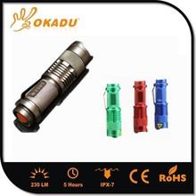 Mini Zoom CREE Led High Bright Flashlight Maglite Torch
