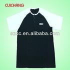 Black and white led tshirt for men with pocket